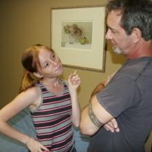 Alyssa Hart asks her stepdad to make a deal