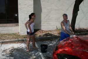 Ashley hitting on a homeless man for a handjob