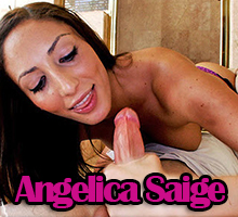 Angelica Saige knows how to give an amazing handjob