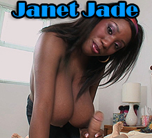 Janet Jade loves tugging on white cocks and giving taboo handjobs