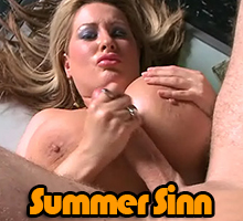 Summer Sinn lets a guy get some titty fuck action in the VIP room