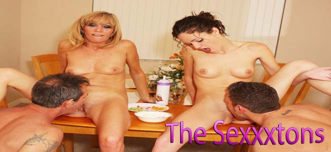 The Sexxxtons sharing their partners