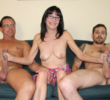 jessica-sexxxton-strokes-two-big-cocks