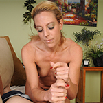 Charli Shay Jerking Big Boner at Over40Handjobs