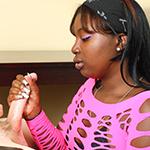 Ebony China strokes a big boner at Ebonytugs.com