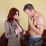 Milf Tiffany Mynx Jerks Off A Dick