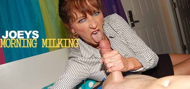 milking handjob with ciera blue milf