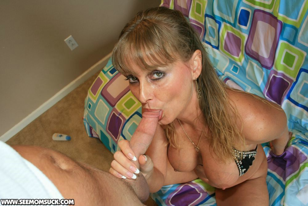 image Step mom gets caught sucking bf dick