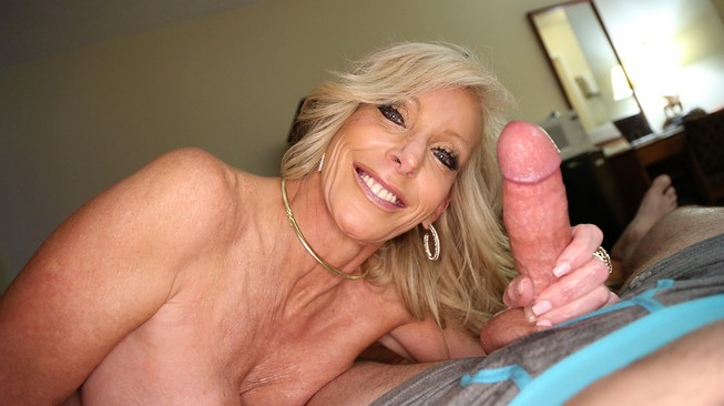 Tiffany Lebroc is proud of the hard cock her stepson is packing