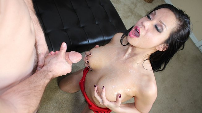 cumblastcity kimmy lee gets covered in jizz