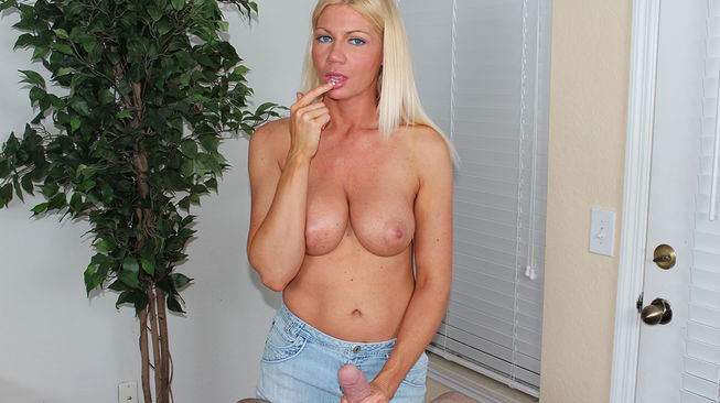 christina skye licks up his fresh cum