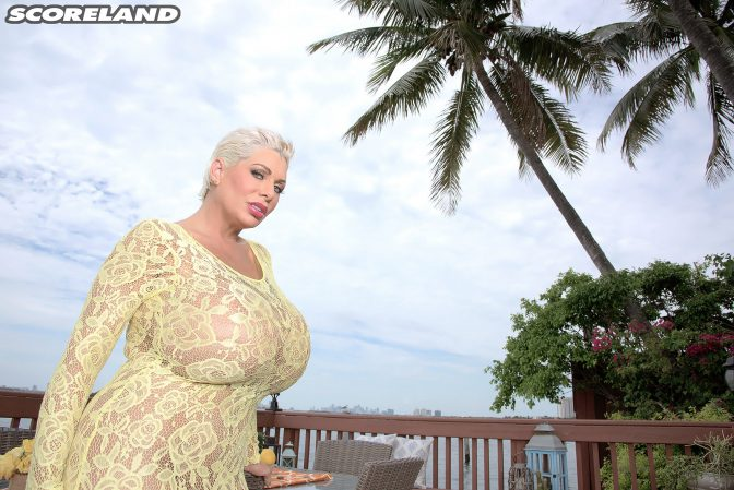 Claudia Marie Gets Titty Fucked and Jizzed On