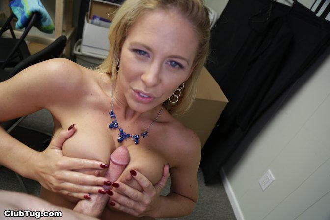 MILF Cherie Deville Handjob Pics