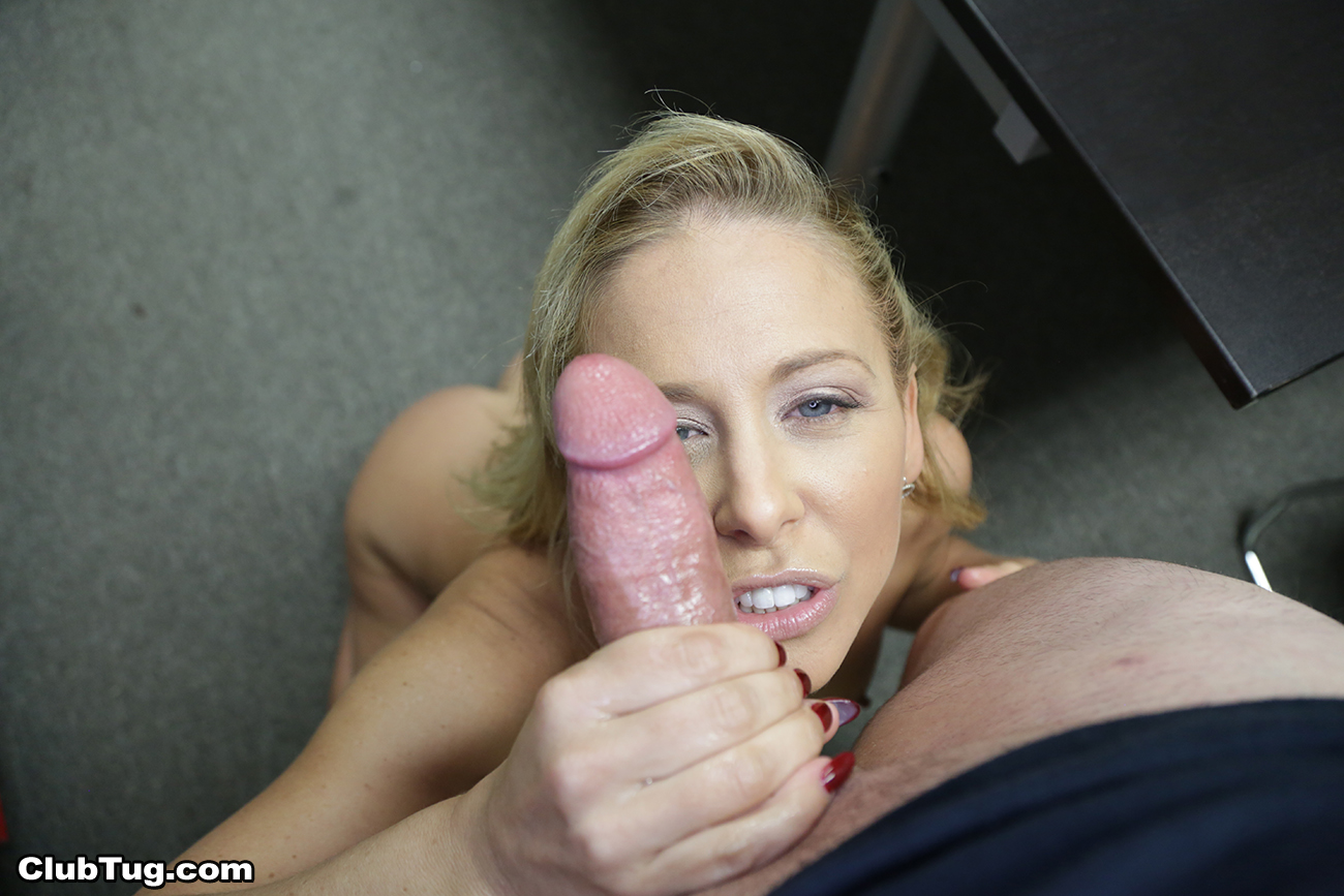 Woman sucks a mean cock 8