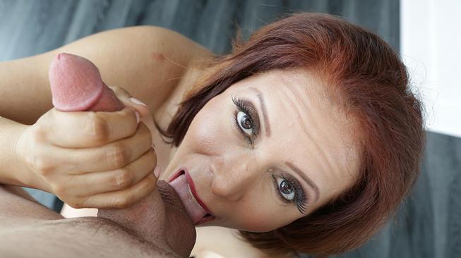 nicky ferrari licking his balls
