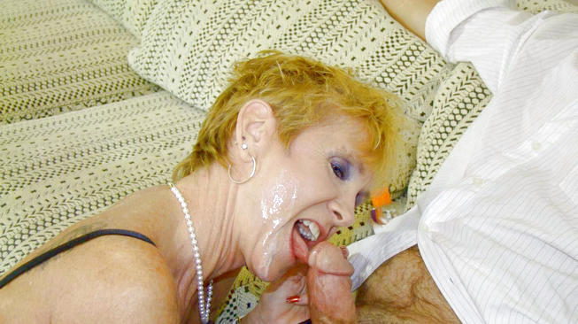 mrs ray gets a facial on see mom suck
