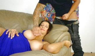 persia monir gets groped in her sleep