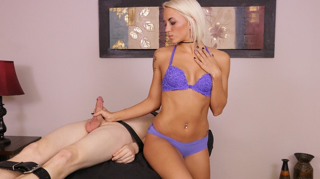 tied up and helpless with blake carter on meanmassage