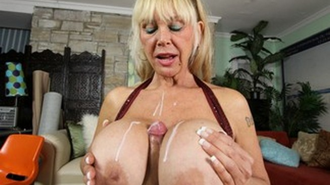 clubtug shelly the burbank bomber gets cum on her juggs